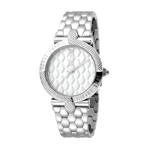 Just Cavalli  Carattere Ladies Silver Watch