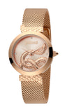 Just Cavalli Watch Ladies Rosegold Dial