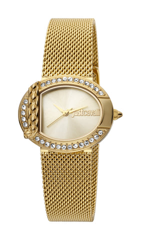 JUST CAVALLI CHAMPAGNE DIAL LADIES WATCH