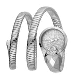 Just Cavalli Ladies SS Silver Glitter Dial
