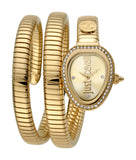 Just Cavalli Watch Ladies Champagne sunray Dial
