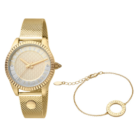 Just Cavalli Watch Ladies Champagne Dial