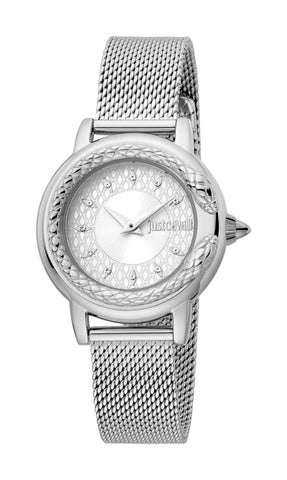 Just Cavalli Watch Women Silver 23 mm Silver Dial