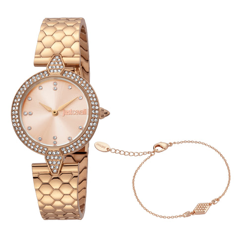 Just Cavalli Watch Women Rose Gold 24 mm Rose Gold Dial