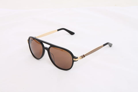 Korloff Aviator Gents Sunglasses (Brown Lens)