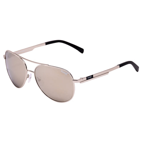 Korloff Aviator Gents Sunglasses (Silver Mirror)