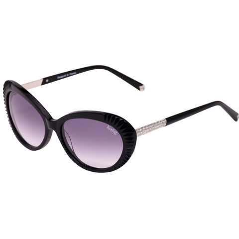 Korloff Cat Eyes Ladies Sunglasses (Black Gradient)