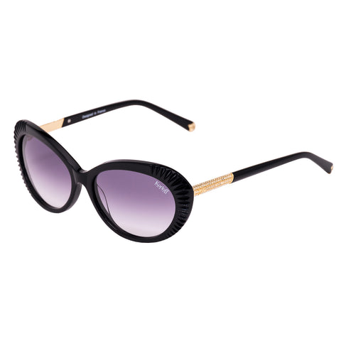 Korloff Cat Eyes Ladies Sunglasses (Brown Gradient)