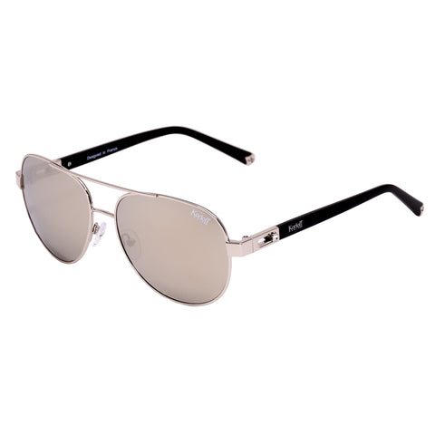 Korloff Aviator Ladies Sunglasses (Silver Mirror)