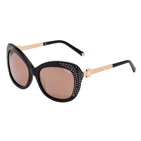 Korloff Rectangular Ladies Sunglasses (Gold)