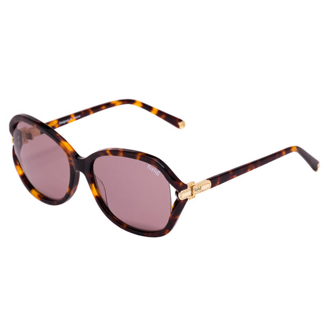 Korloff Oval Ladies Sunglasses (Burgundy)