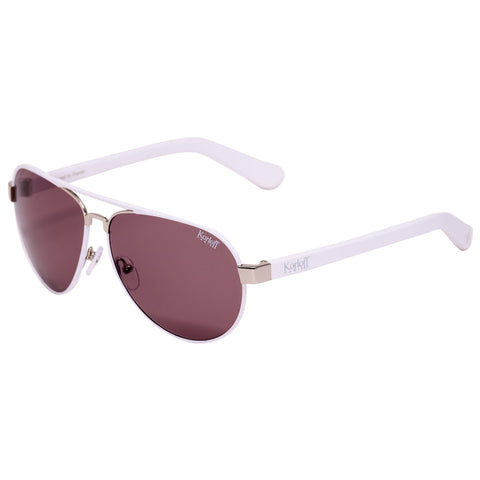 KORLOFF SUNGLASS SILVER/BROWN LENS GENTS