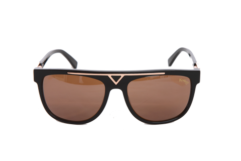 KORLOFF SUNGLASSES BROWN LENS GENTS