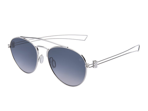 MOMO DESIGN SUNGLASSES UNISEX (SHADED SMOKE BLUE)