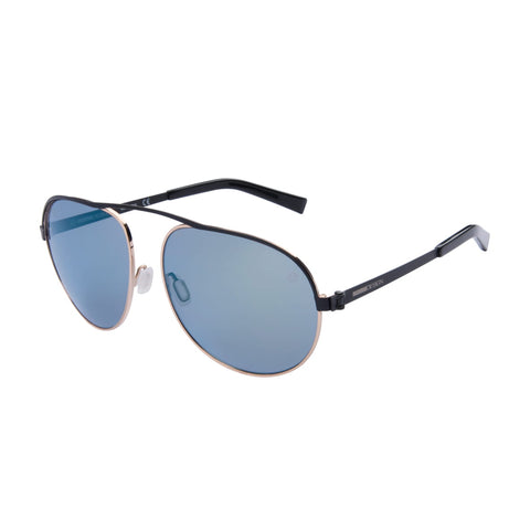 MOMO DESIGN SUNGLASSES UNISEX TRIFLECTION PETROL LENS