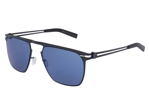MOMO DESIGN SUNGLASSES GENTS MIRROR BLUE LENS
