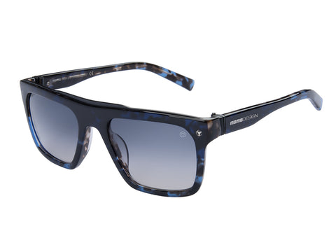 MOMO DESIGN SUNGLASSES UNISEX SHADED SMOKE BLUE LENS