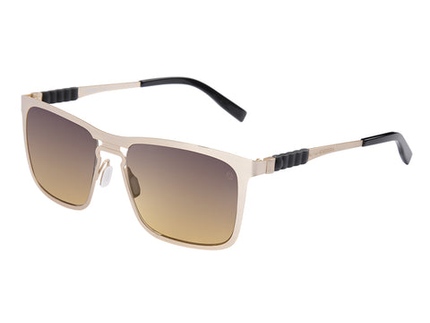 MOMO DESIGN SUNGLASSES GENTS SHADED BROWN LENS