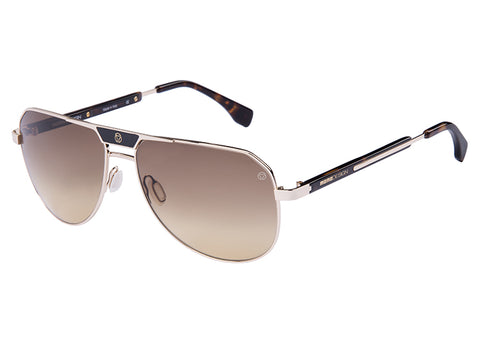 MOMO DESIGN SUNGLASSES GENT SHADED AMBER LENS-MDS52606