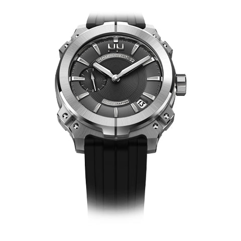 Mauron Musy Gents Graphite Dial Watch