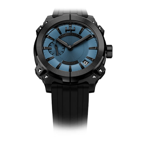 Mauron Musy Gents Blue Dial Watch