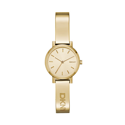 DKNY Ladies Gold Dial Watch
