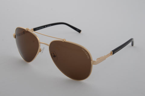 Charriol Gents Aviator Sunglasses (Brown)