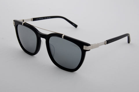 Charriol Gents Sunglasses (Silver Mirror)