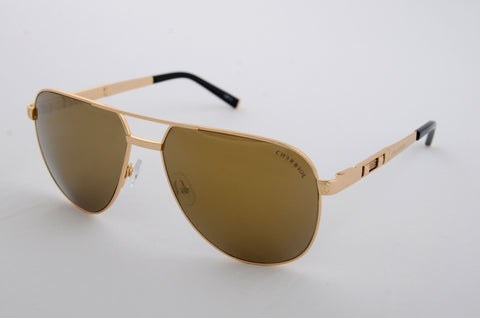 Charriol Gents Sunglasses (Mirror Gold/Brown)