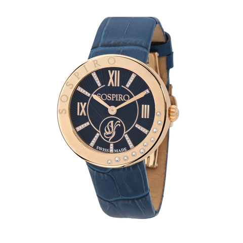 Sospiro Blue Dial Ladies Watch