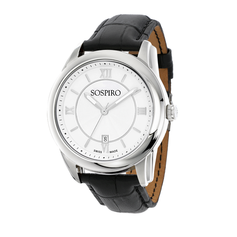 Sospiro Silver Dial Gents Watch