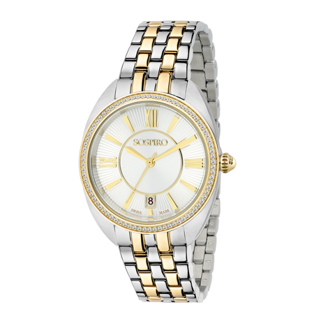 Sospiro Silver Dial Ladies Watch