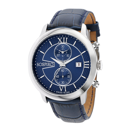 Sospiro Blue Dial Gents Watch