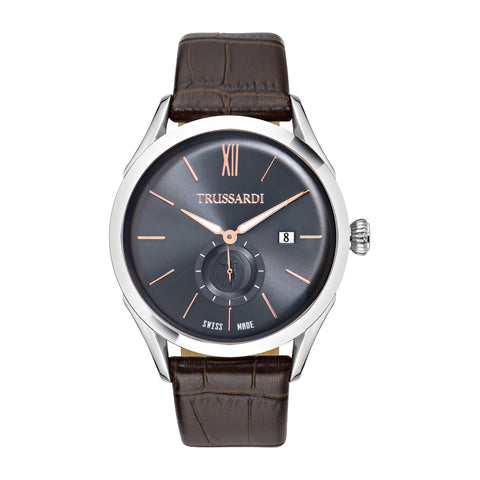 Trussardi Dinastia Blue Dial Gents Watch