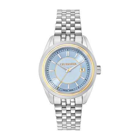 Trussardi Galleria Blue Dial Ladies Watch