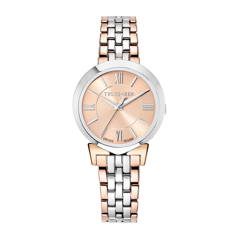 Trussardi Antilia Rose Gold Dial Ladies Watch