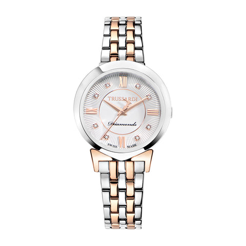 Trussardi Antilia Silver Dial Ladies Watch