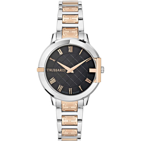 Trussardi Hera Black Dial Ladies Watch