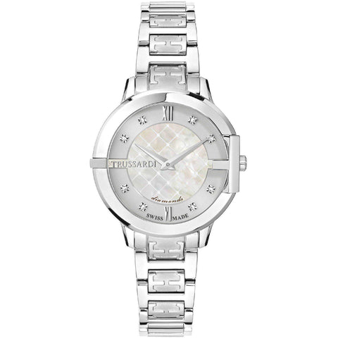 Trussardi Heket Silver Dial Ladies Watch