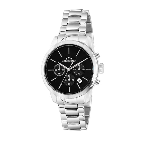 CHRONOSTAR Watch Gents MULTI BLACK DIAL BR SS