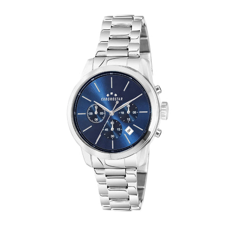 CHRONOSTAR Watch GENTS BLUE DIAL BR SS