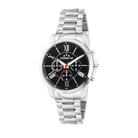 CHRONOSTAR Watch Gents SPORTY MULTI BLACK DIAL