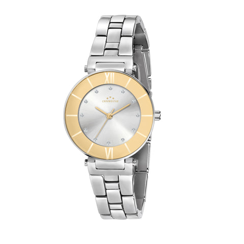 CHRONOSTAR Watch Ladies S/WHIT DIAL BR SS