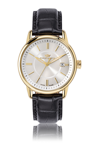 Philip Watch White Dial Gents Watch