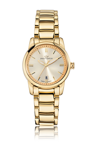 Philip Watch Yellow Gold Dial Ladies Watch