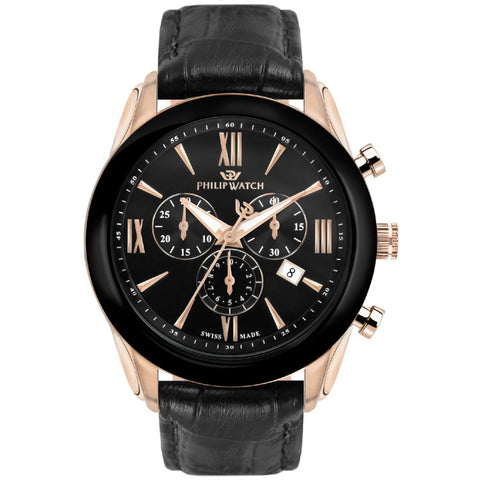 Philip Watch Black Dial Gents Watch