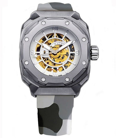 Ratel Watch Gents Camo Rubber Strap