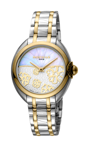 Rochas White MOP / Silver Dial Ladies Watch