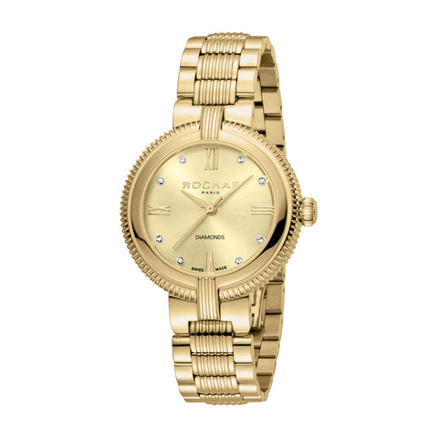 Rochas Paris GP Metal Bracelet Ladies Watch