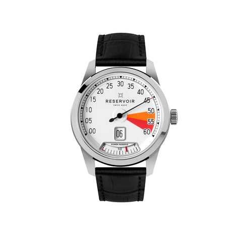 RESERVOIR Watch Men SS White Dial